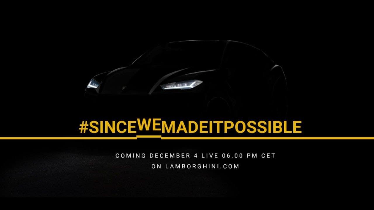 Lamborghini Urus Worldwide Premiere