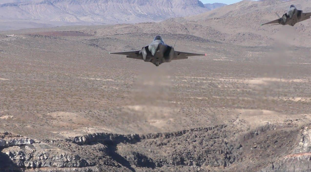F-35 Lightning – Death Valley