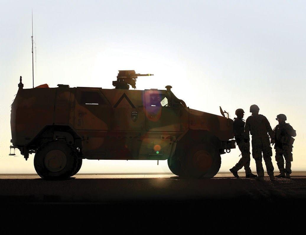 International Armoured Vehicles 2018