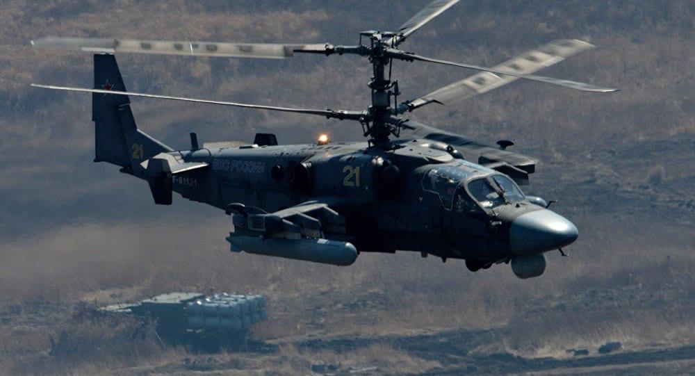 "Ka-52 ""Alligator"" Vs AΗ-64 ""Apache"""