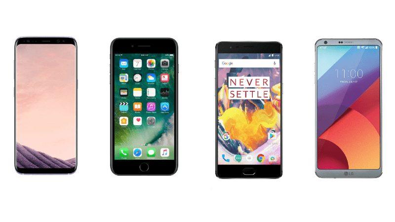 Battery Drain Test – Στη μάχη iPhone X Vs Galaxy S8 Vs Note 8 Vs OnePlus 5T Vs Mate 10 Pro