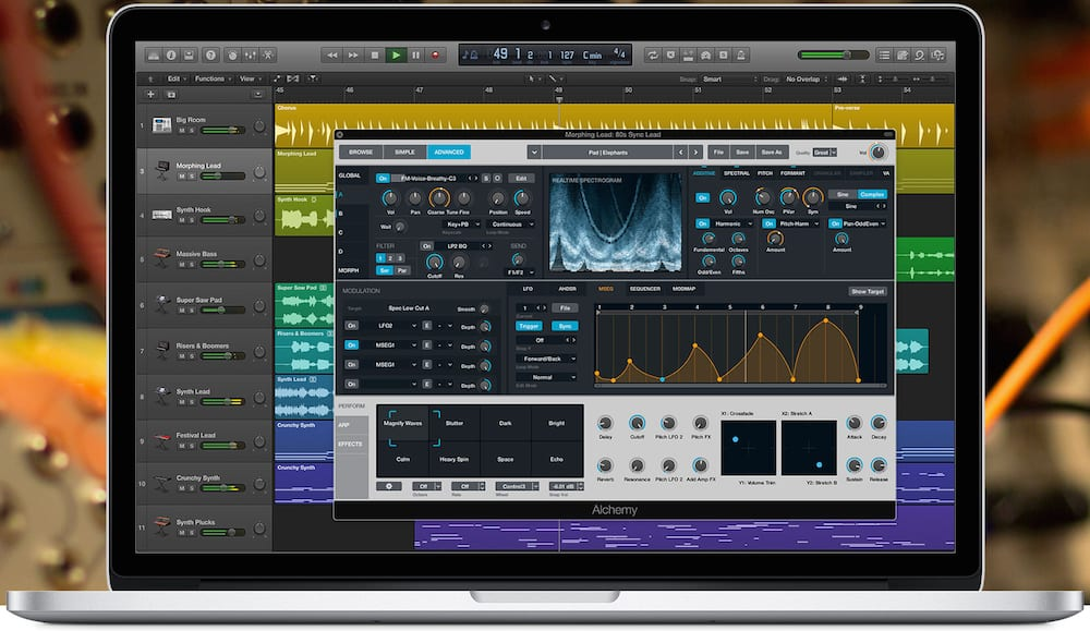 Apple Logic Pro X Update