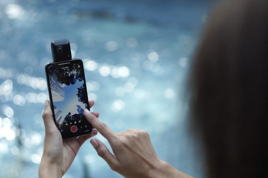 Nano S 360-Degree iPhone Camera