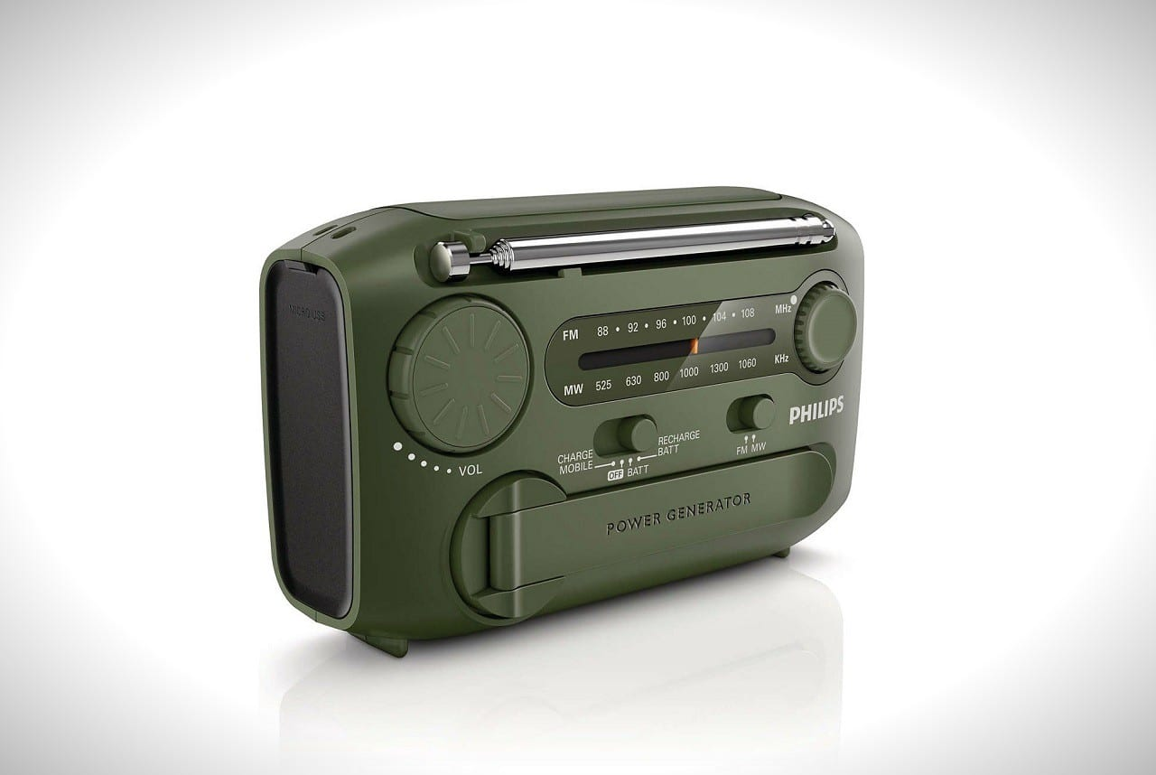 Philips AE1120/00 Emergency Radio