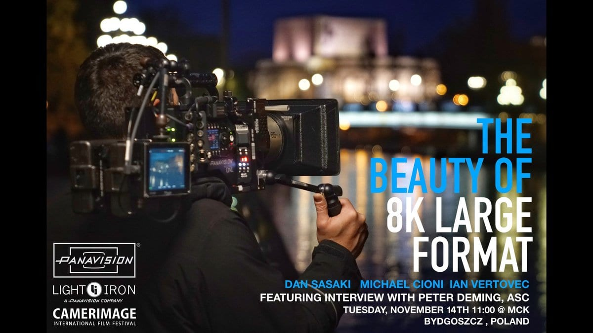 The Beauty of Large Format 8K