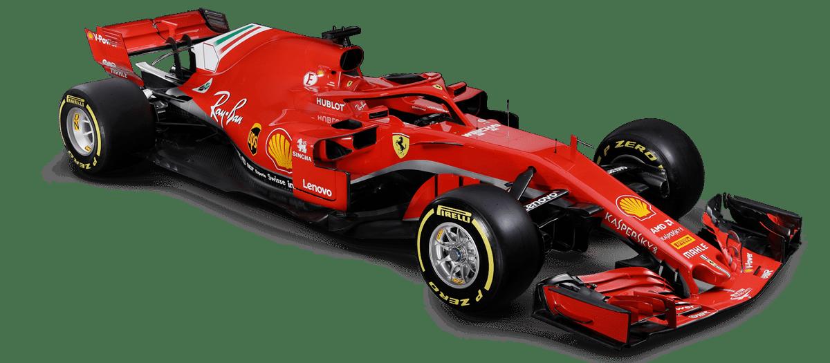 Formula 1 Ferrari SF71H