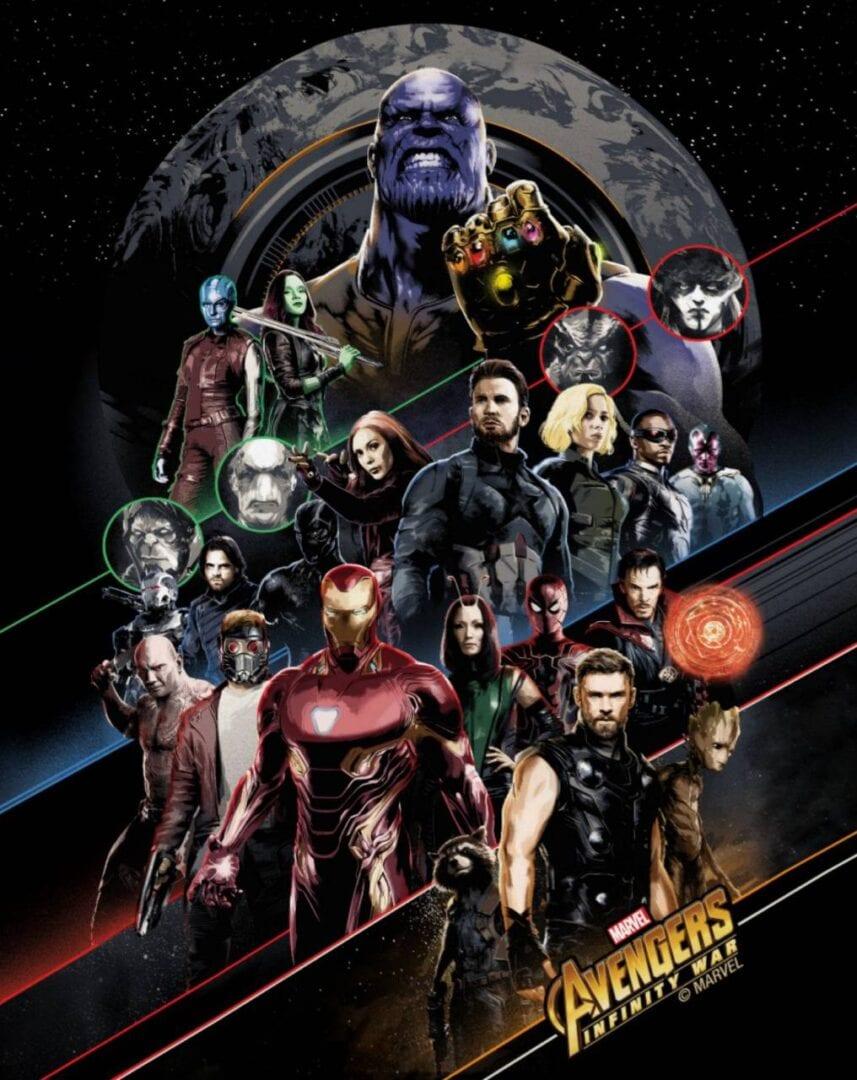 Avengers Infinity War – 50 Days Trailer