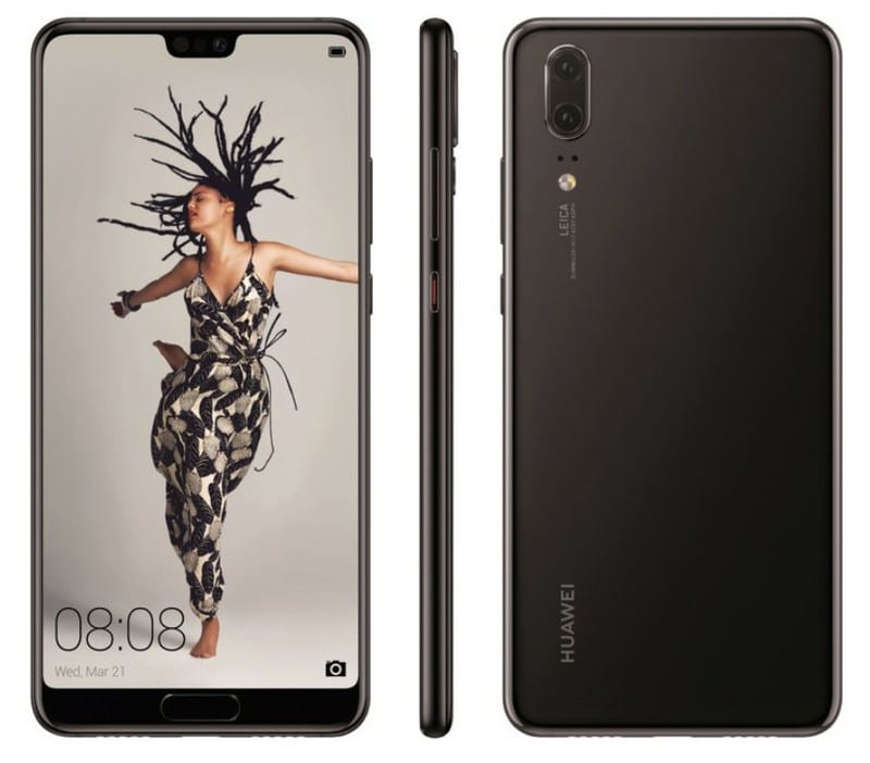 To νέο Huawei P20