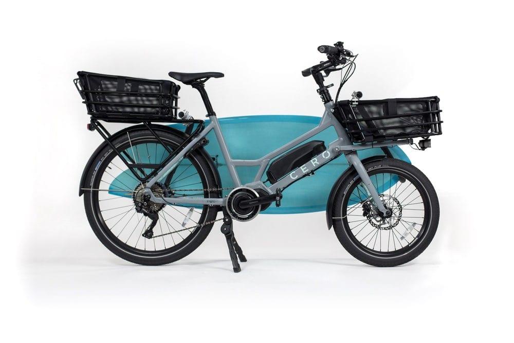 modular cero one electric cargo bike gadgetfreak not. Black Bedroom Furniture Sets. Home Design Ideas