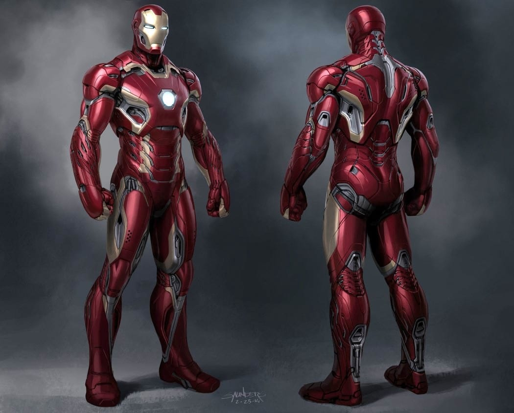 Phil Saunders – Iron Man Designer