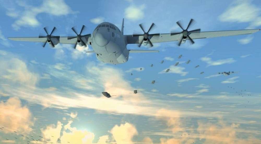DARPA Gremlin Drones για τα  F-22 και F-35 μαχητικά