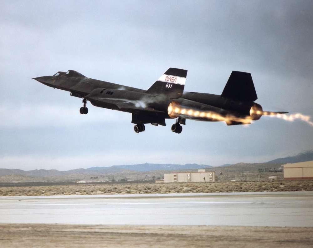 NASA SR-71 Blackbirds