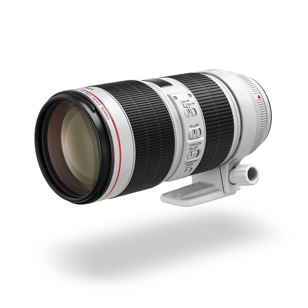 Νέοι Canon EF 70-200MM F/4L II USM + EF 70-200MM F/2.8L IS II USM