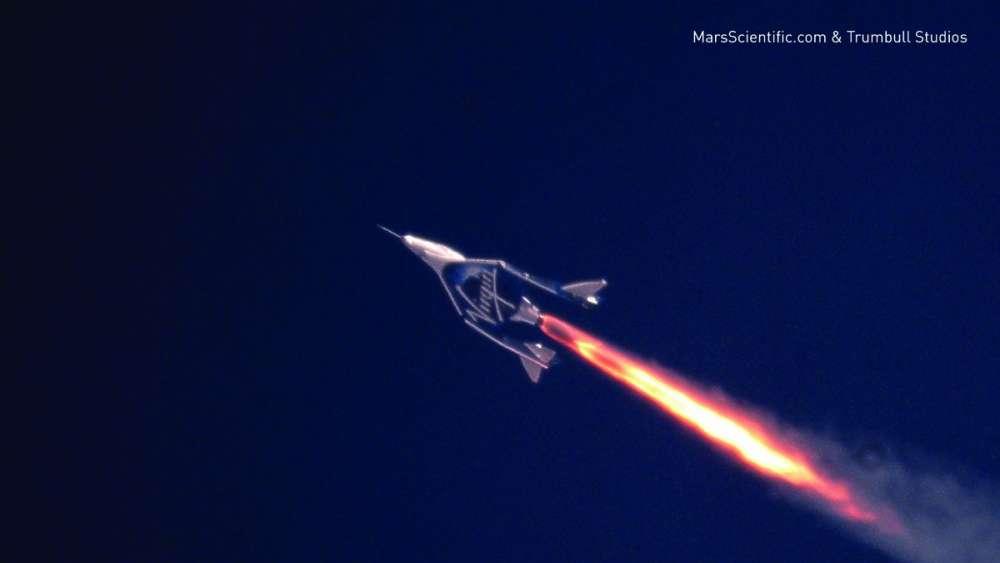 Ταχύτητα Mach 2.47 για το αερόχημα Virgin Galactic
