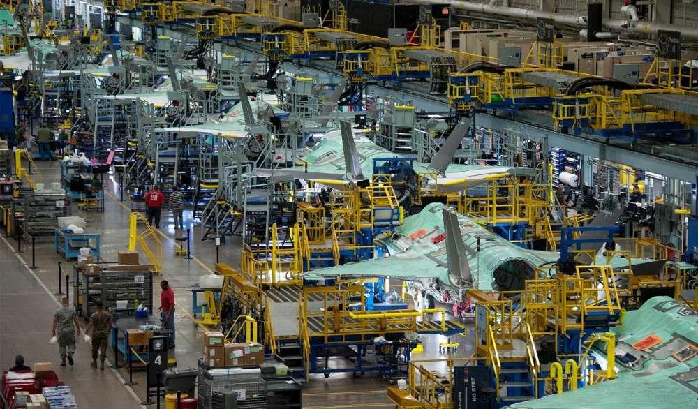 Υπερυψηλή τεχνολογία στην παραγωγή των μαχητικών αεροσκαφών
