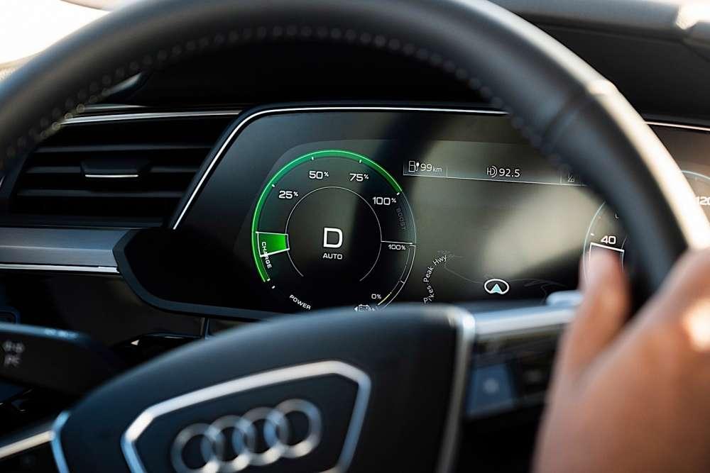 Οι επιδόσεις του Audi e-tron SUV