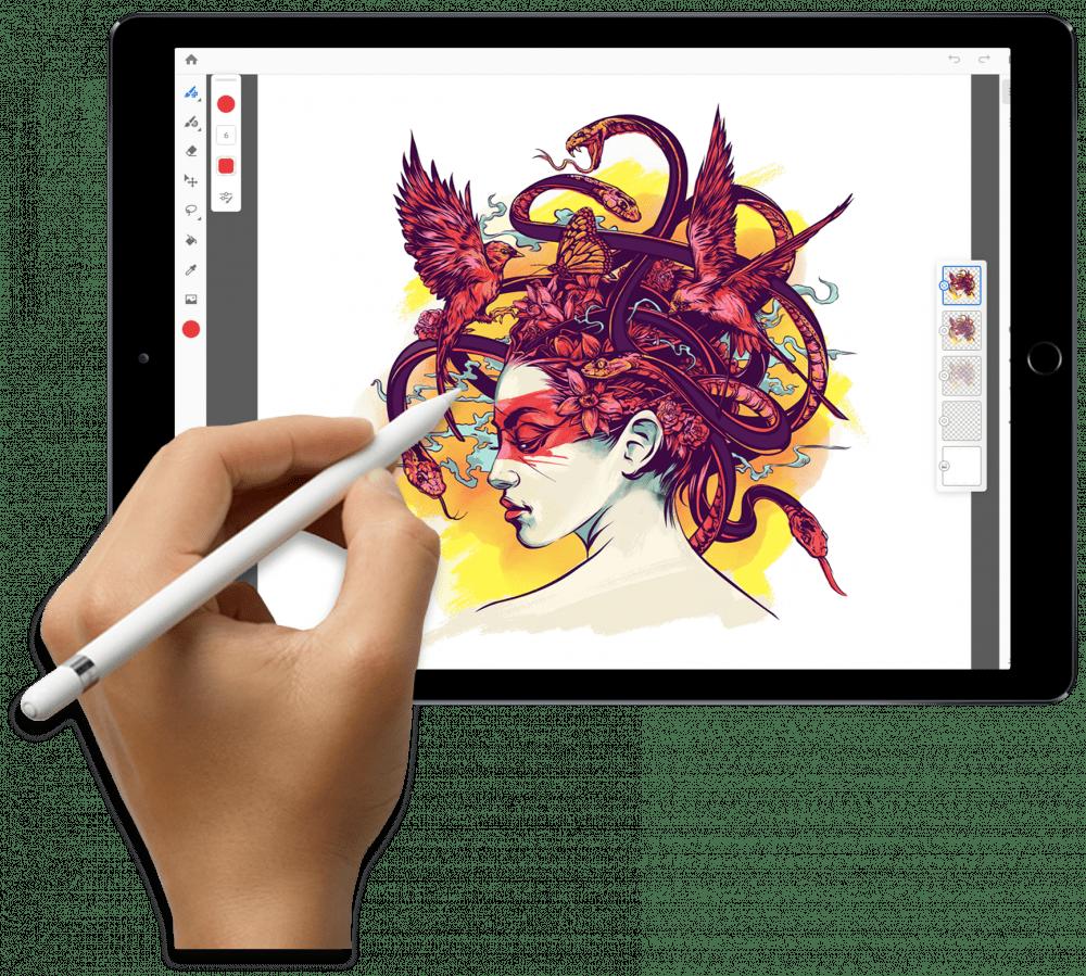 Το Photoshop σε iPad