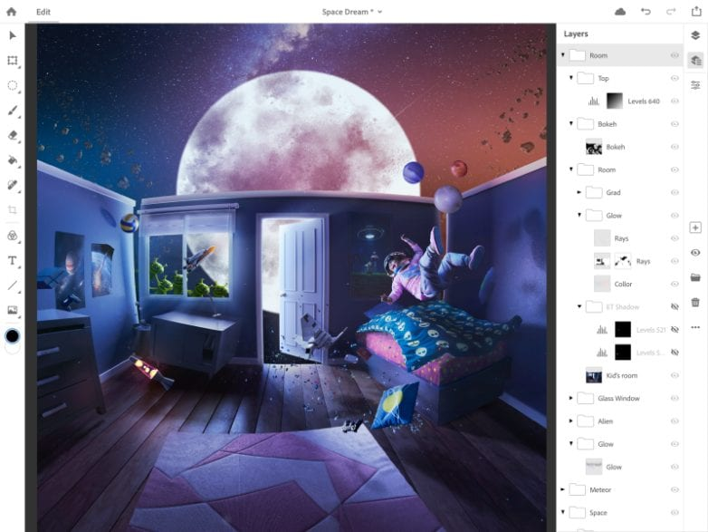 Adobe Photoshop CC και στο iPad