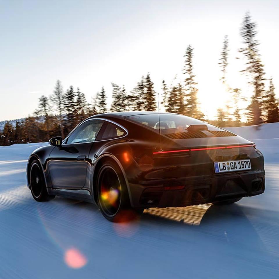 The new Porsche 911 World Premiere