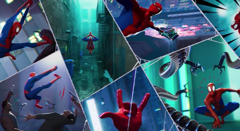 Spider-Man: Into The Spider-Versee Clip – Leap of Faith