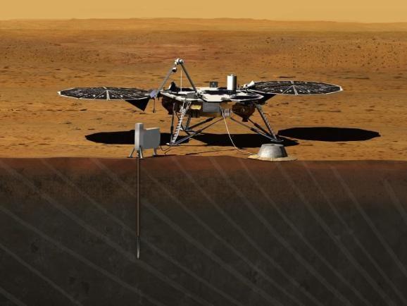 Η NASA στέλνει ένα διαστημικό τρυπάνι 850 εκατομμυρίων στον Άρη