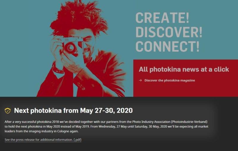 Τέλος η Photokina 2019