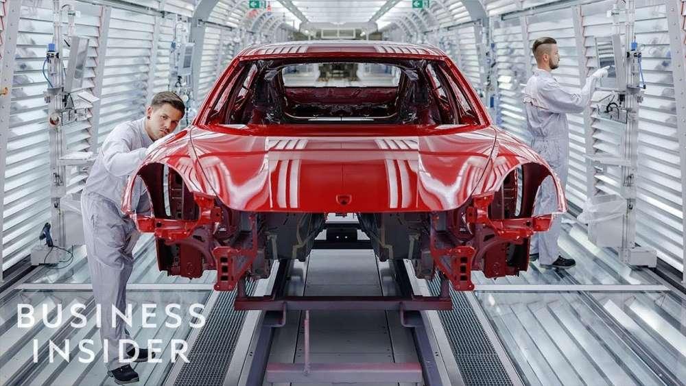 Κατασκευάζοντας μια Porsche
