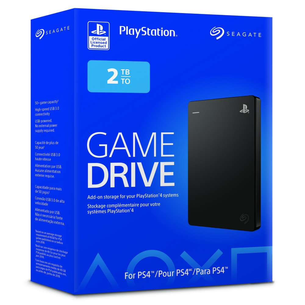 PlayStation Seagate External Hard Drive