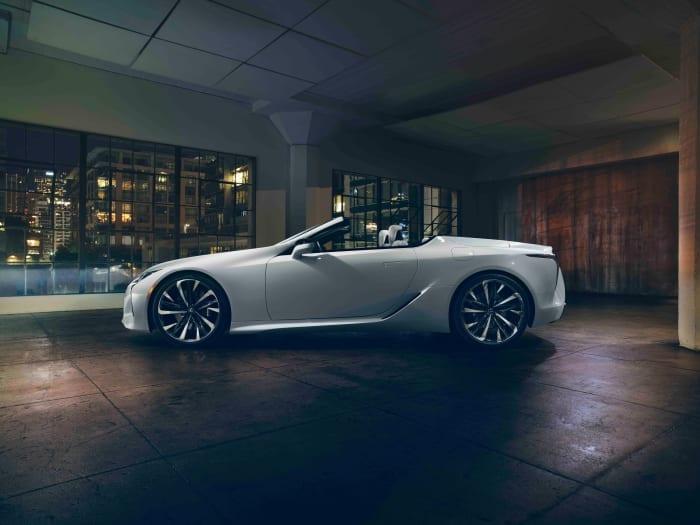 Lexus LC Coupe Convertible