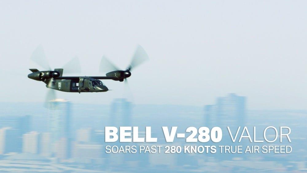 Στους 280 κόμβους το Bell V-280 Valor