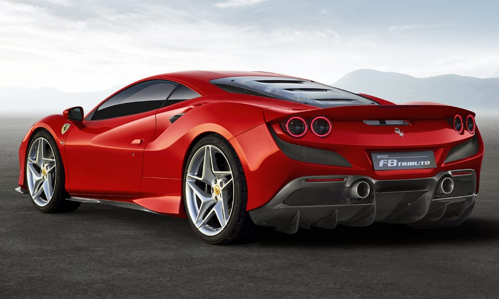 Geneva Motor Show 2019 – Ferrari F8 Tributo Coupe