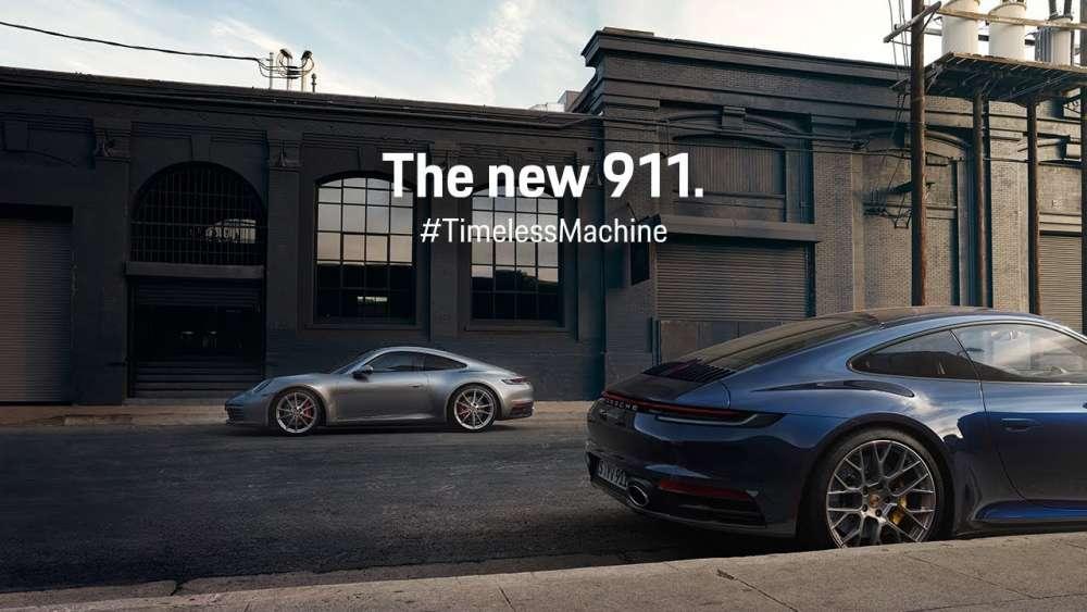 Porsche 911 – Time Travel