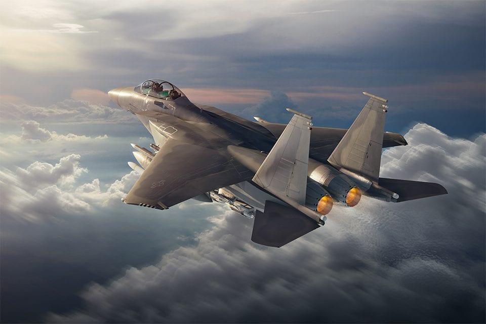 Το νέο Boeing F-15EX