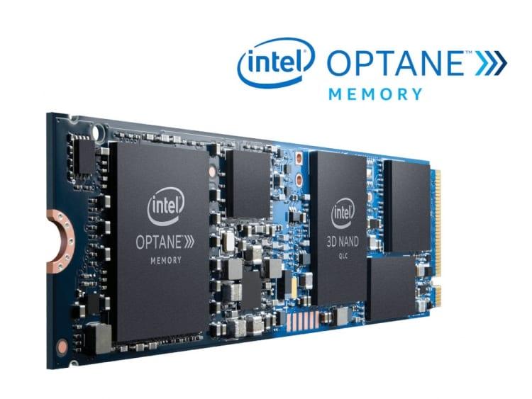 Intel Optane Memory H10 hybrid M.2 SSD