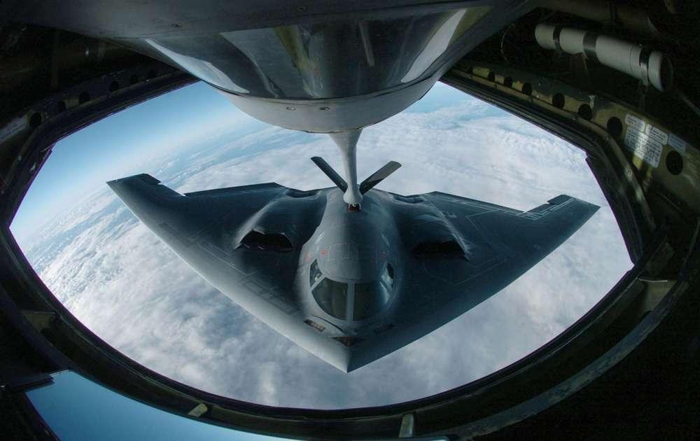 Ιnside the B2 Stealth Bomber