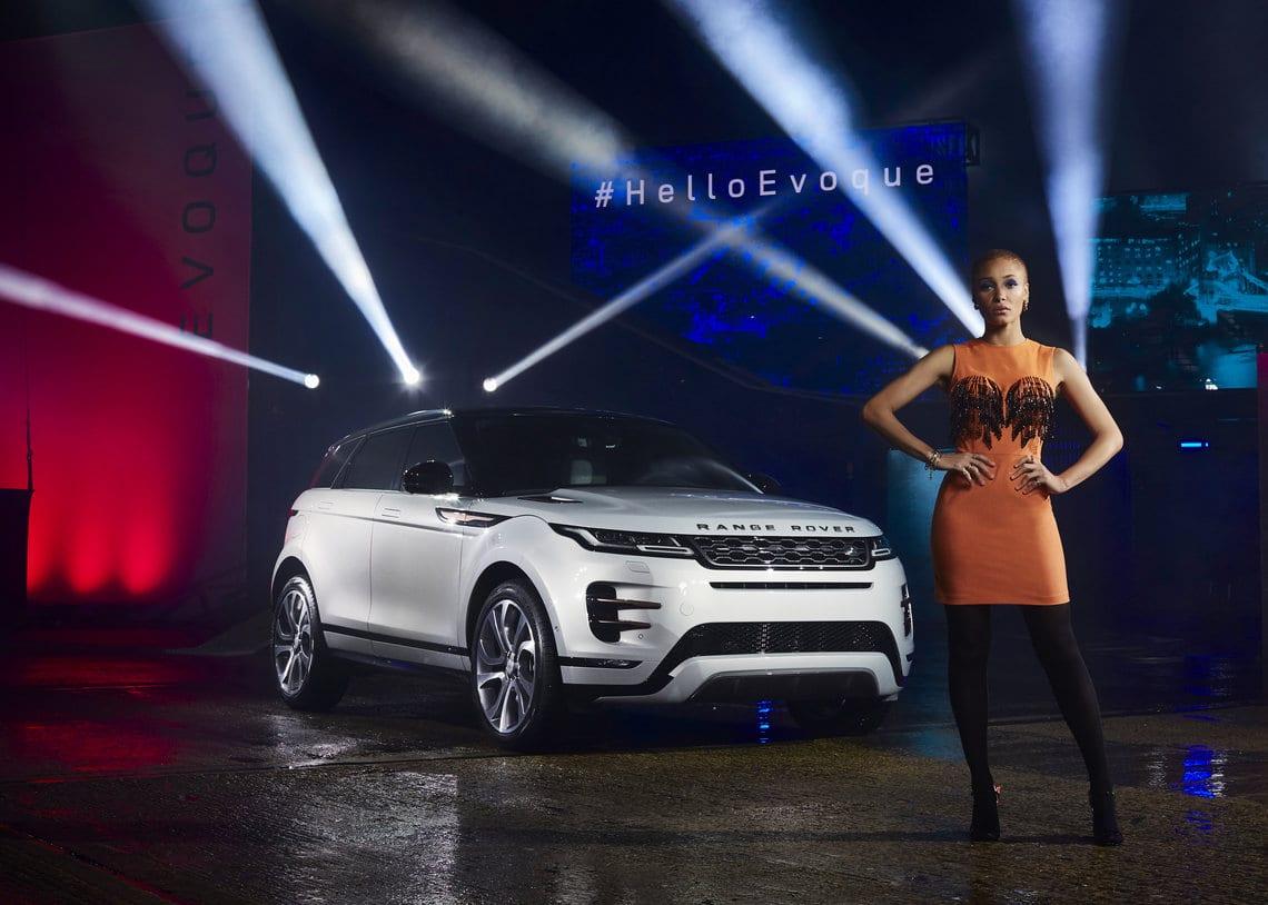Adwoa Aboah's London + New Range Rover Evoque