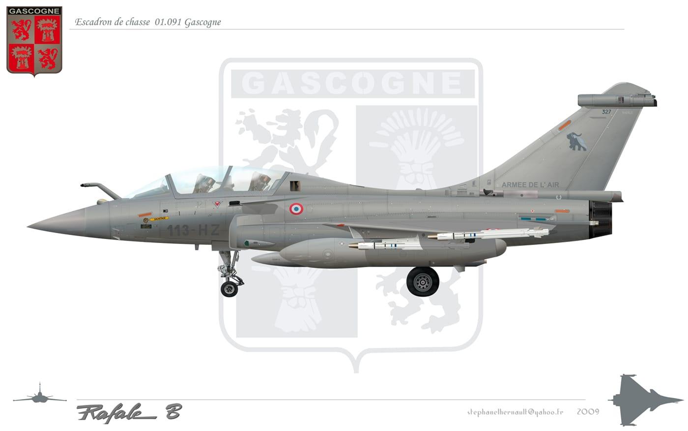 Γάλλοι μαχητές – Armée de l'air spécial 4e escadre de chasse