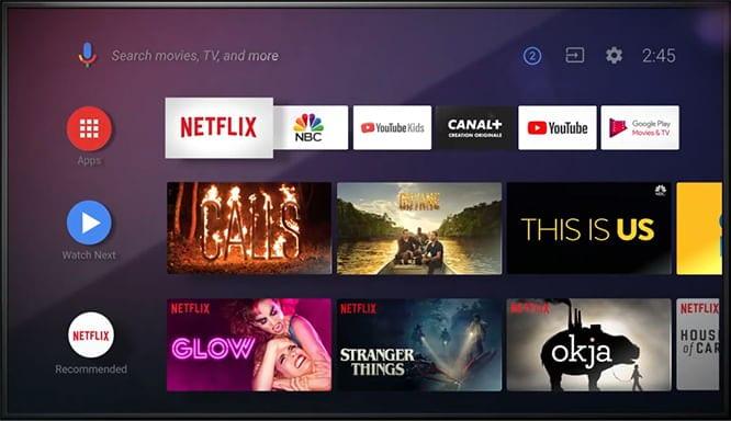 Το νέο Android TV