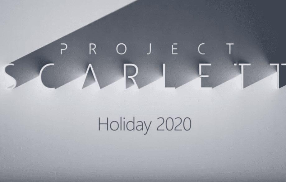 E3 2019 – Xbox Project Scarlett Reveal Trailer