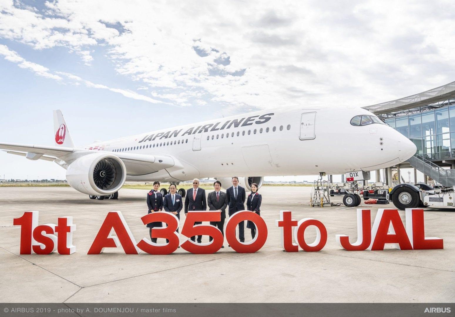Πρώτο Airbus A350-900 για τη JAL