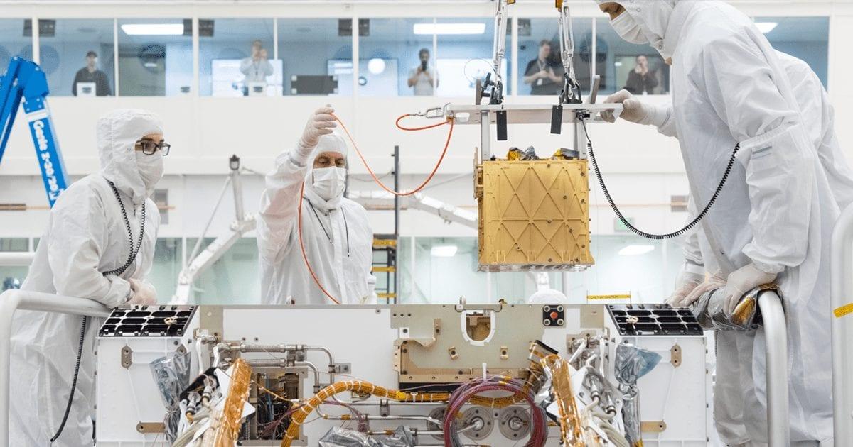 NASA Jet Propulsion Laboratory – Seeing 2020