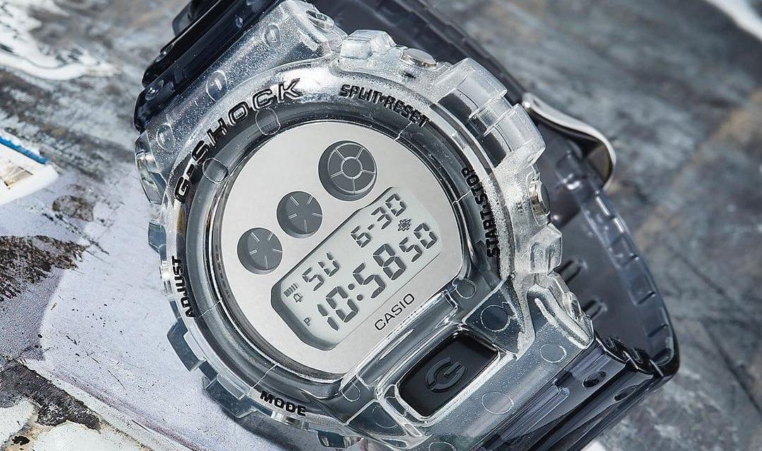 Casio DW-5600SK Semi-transparent Skeleton Series