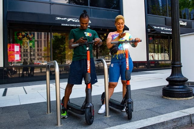 Νέα 3ης Γενιάς Spin ηλεκτρικά scooters