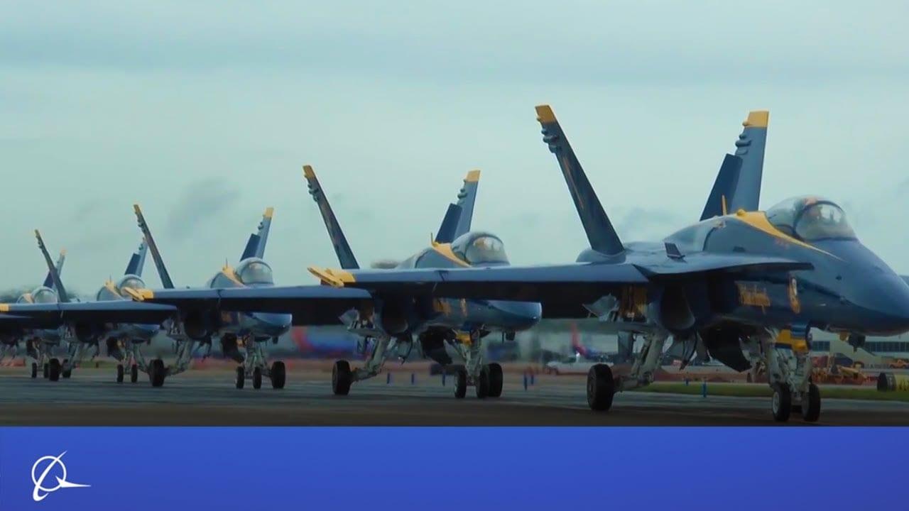 Οι Blue Angels στη Boeing