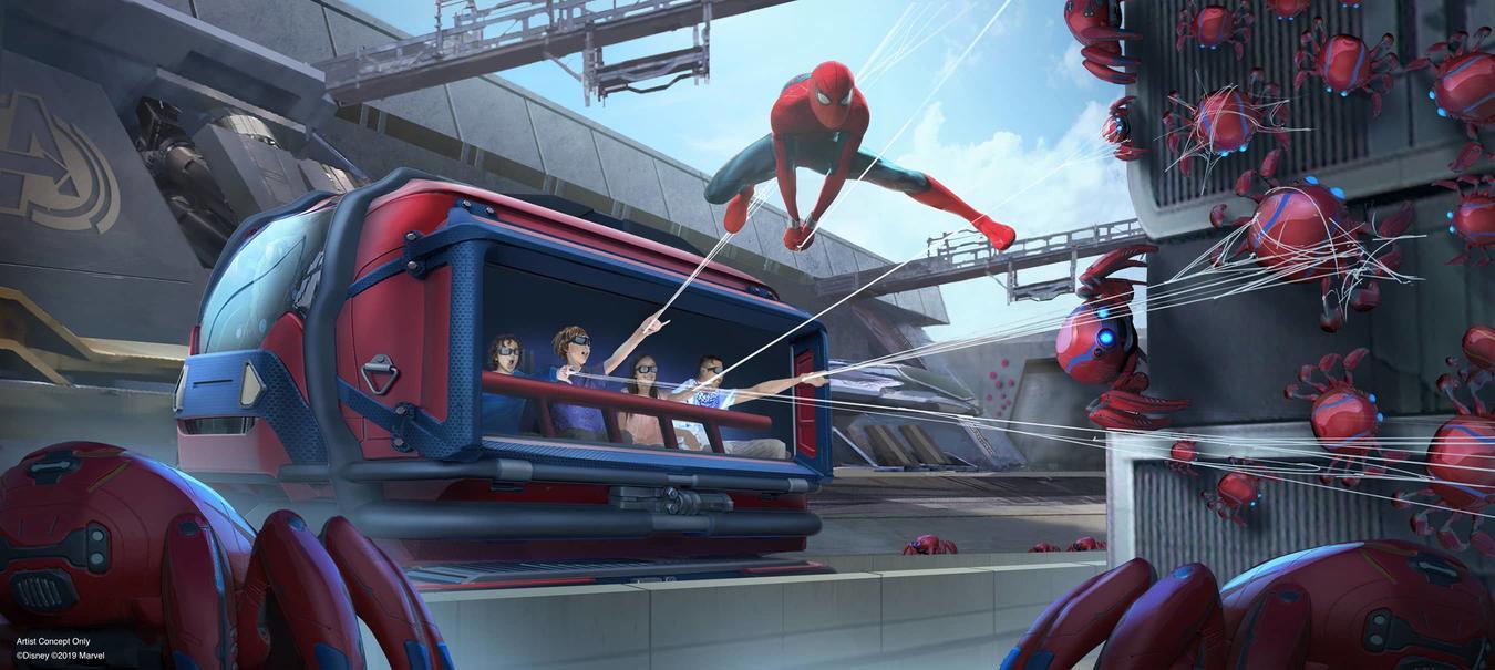 Disney Parks Avengers Campus