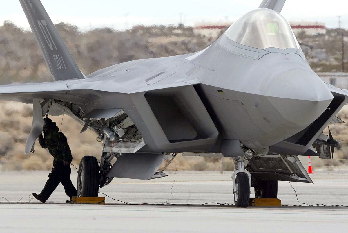 Fixing the F-22 Raptor