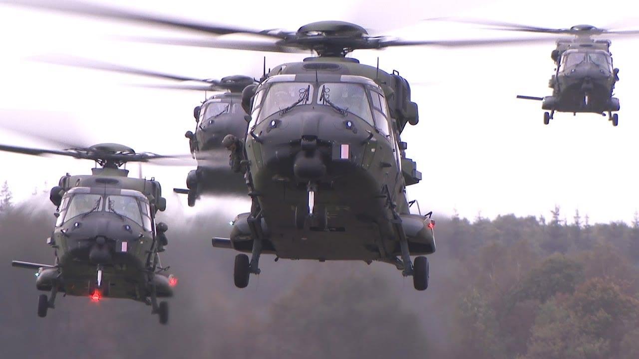 Falcon Autumn 2018 – NH90, CH-47 Chinook και AH-64 Apache