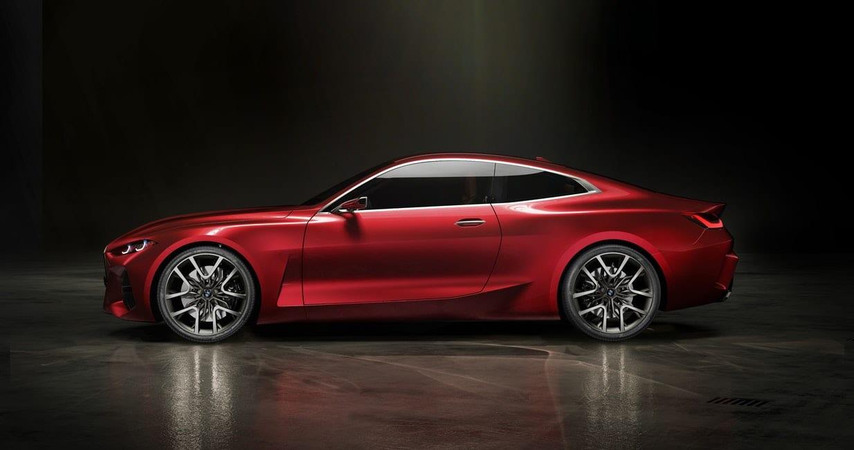 Frankfurt 2019 – BMW 4 Series Coupe Concept