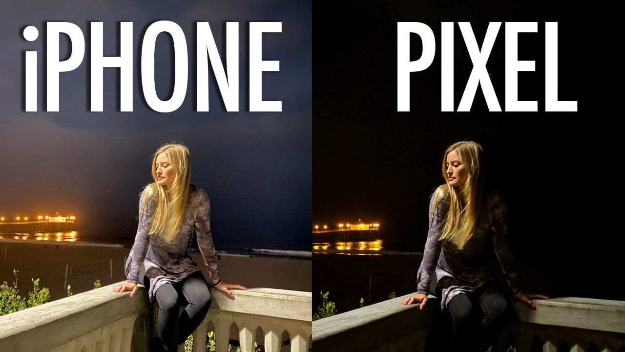 Night Mode – iPhone 11 Pro Max vs Pixel 3a XL