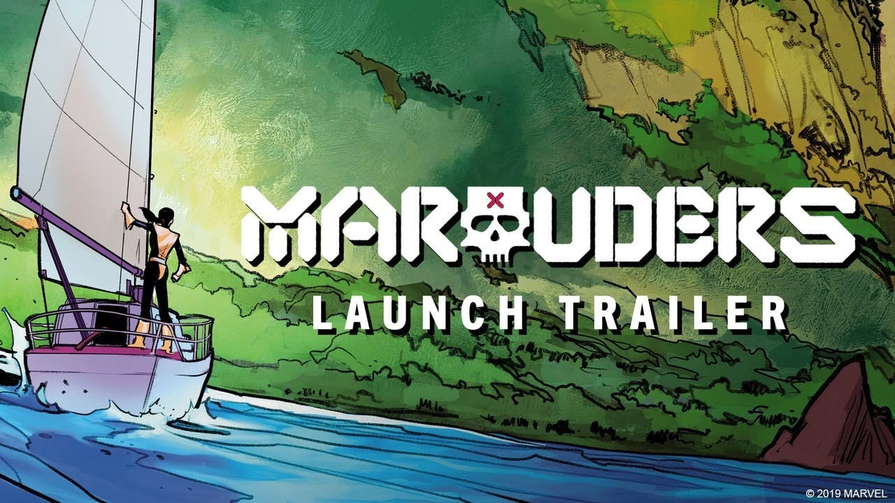 Marauders #1 – Launch Trailer